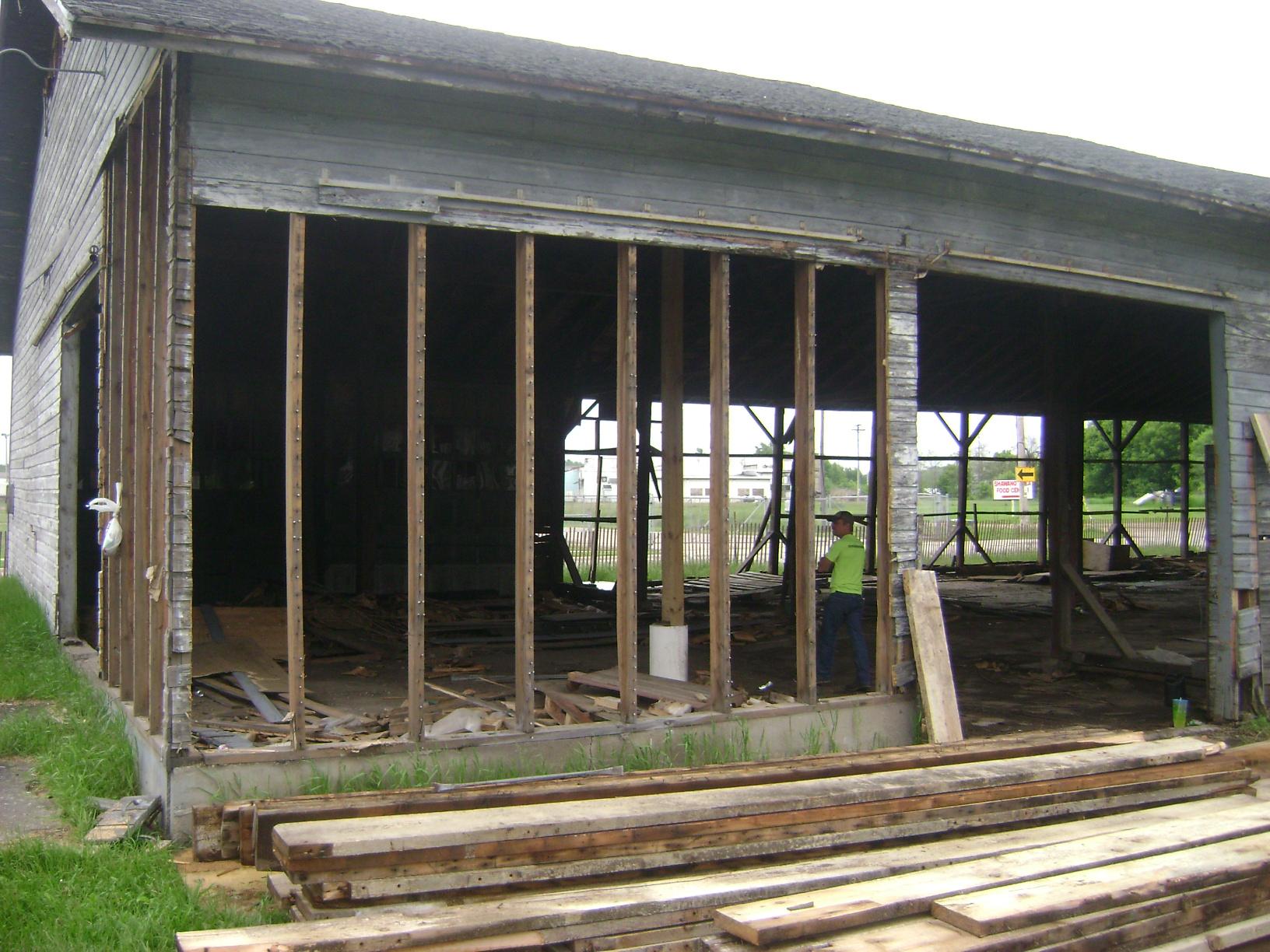 Demolition | Wisconsin Barn Board and Beam